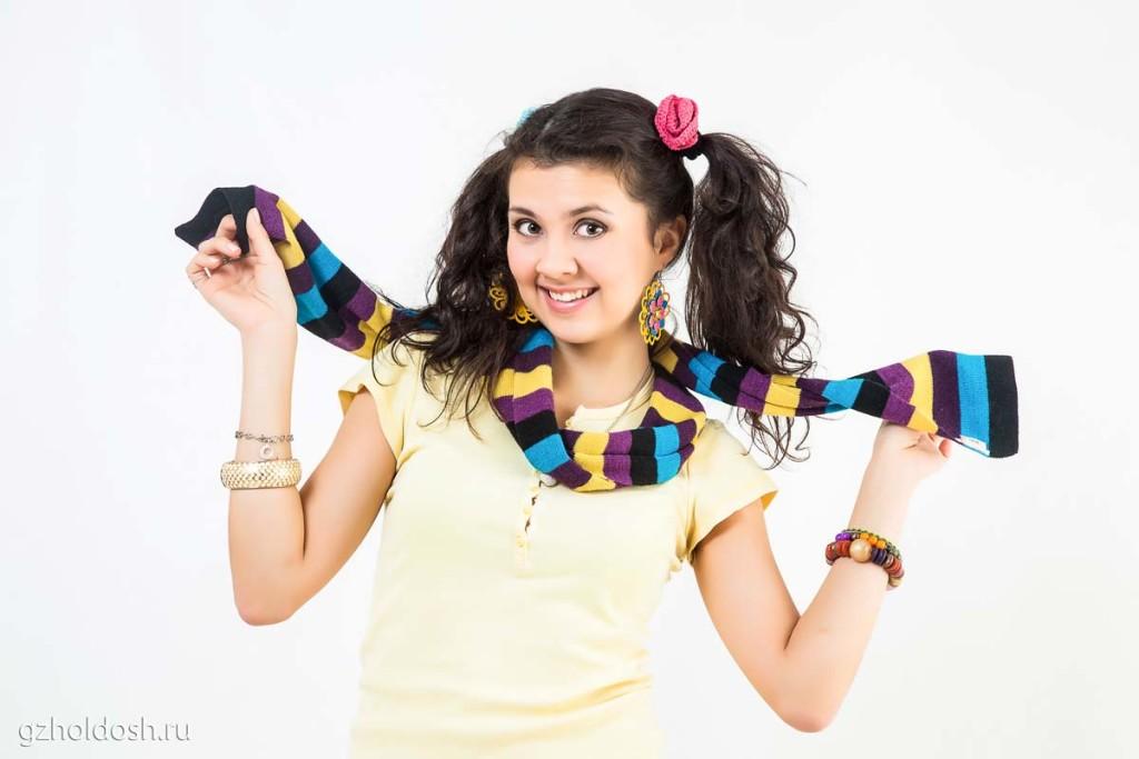 веселый шарф