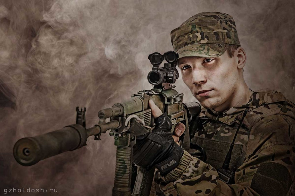 военный снайпер